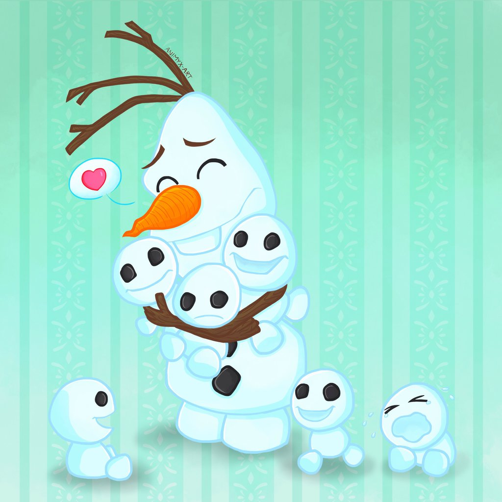 Frozen Snowgies by animyx 1024x1024
