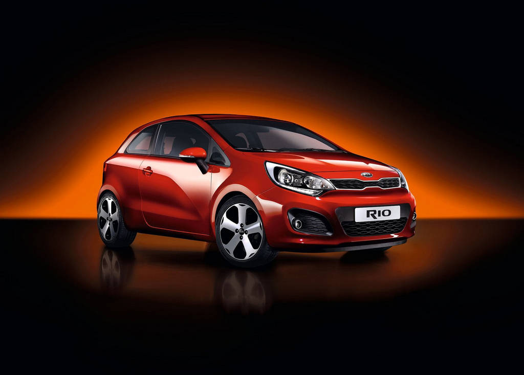 Kia Rio 3 Door   Car Wallpapers 2012 Automobiles 1024x733