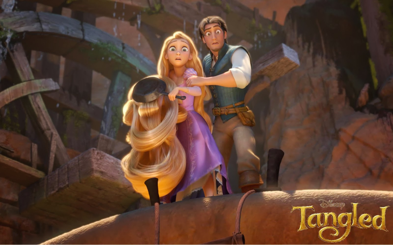 Desktop Wallpaper Disney Tangled Wallpaper 1600x1000