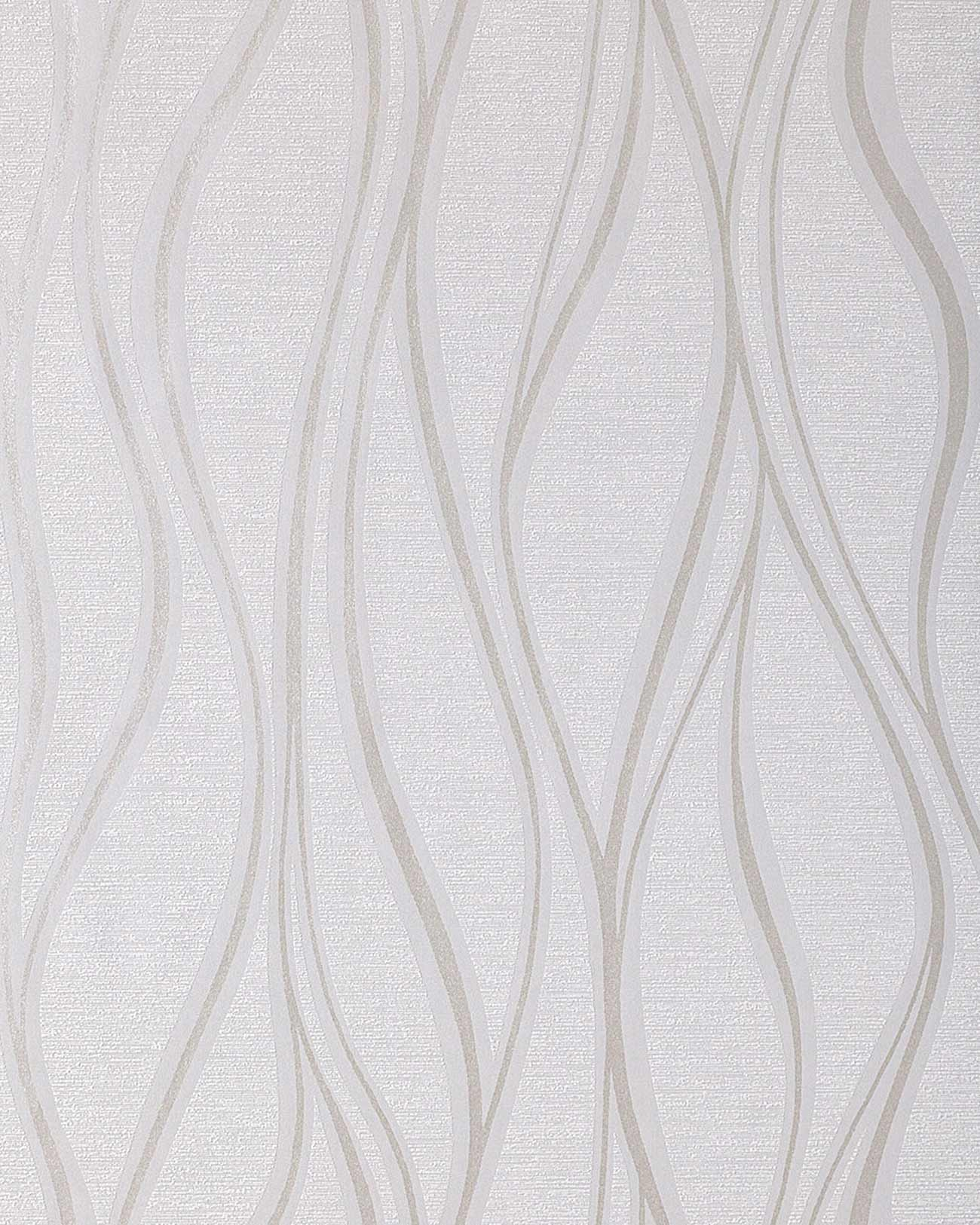 Stripe Vinyl Wallpaper Wall EDEM 147 02 Light Grey White Silver 1300x1625