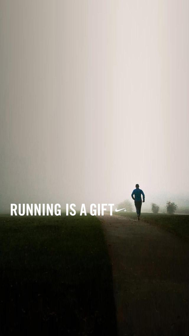 Fitness Iphone Wallpaper Running is a gift wallpaper 640x1136