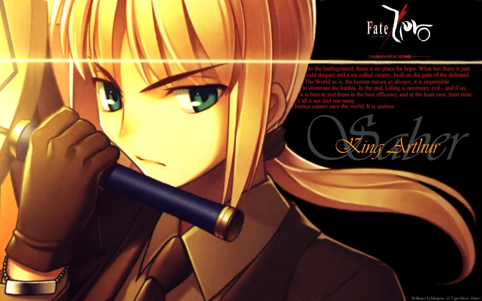 Saber   Fate Stay Night Wallpaper 24684629 1920x1200