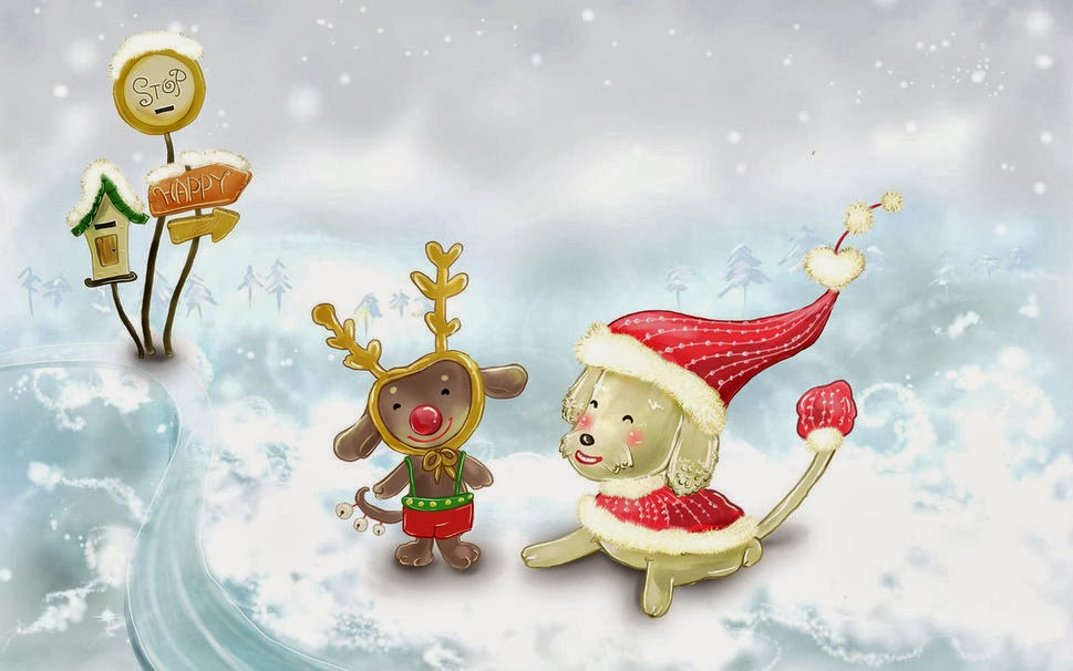 Cute christmas desktop wallpaper   beautiful desktop wallpapers 2014 969x606