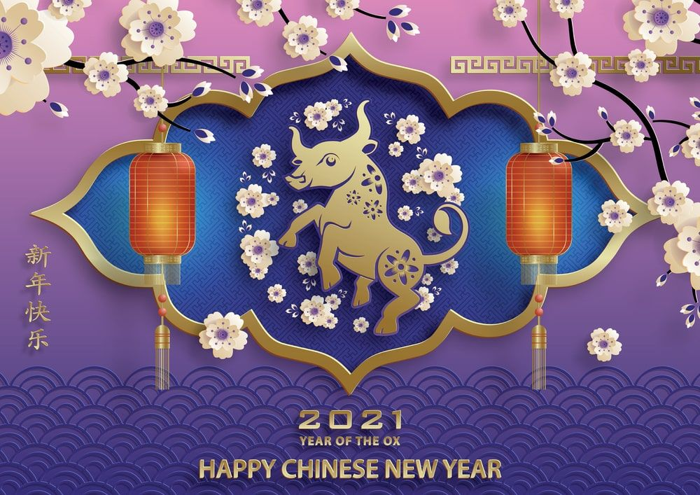 Chinese New Year 2021 Images Wallpaper Pictures Happy Bull 1000x707
