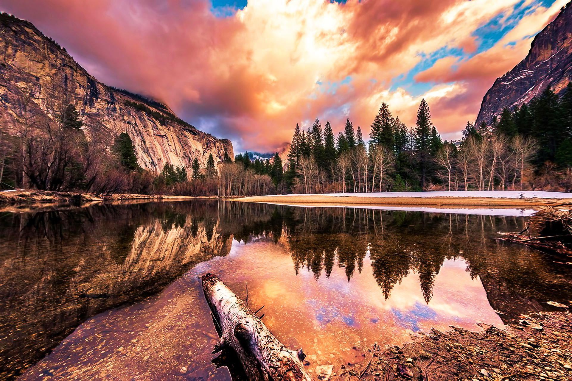 wonderful yosemite national park california wide wallpaper 1920x1280