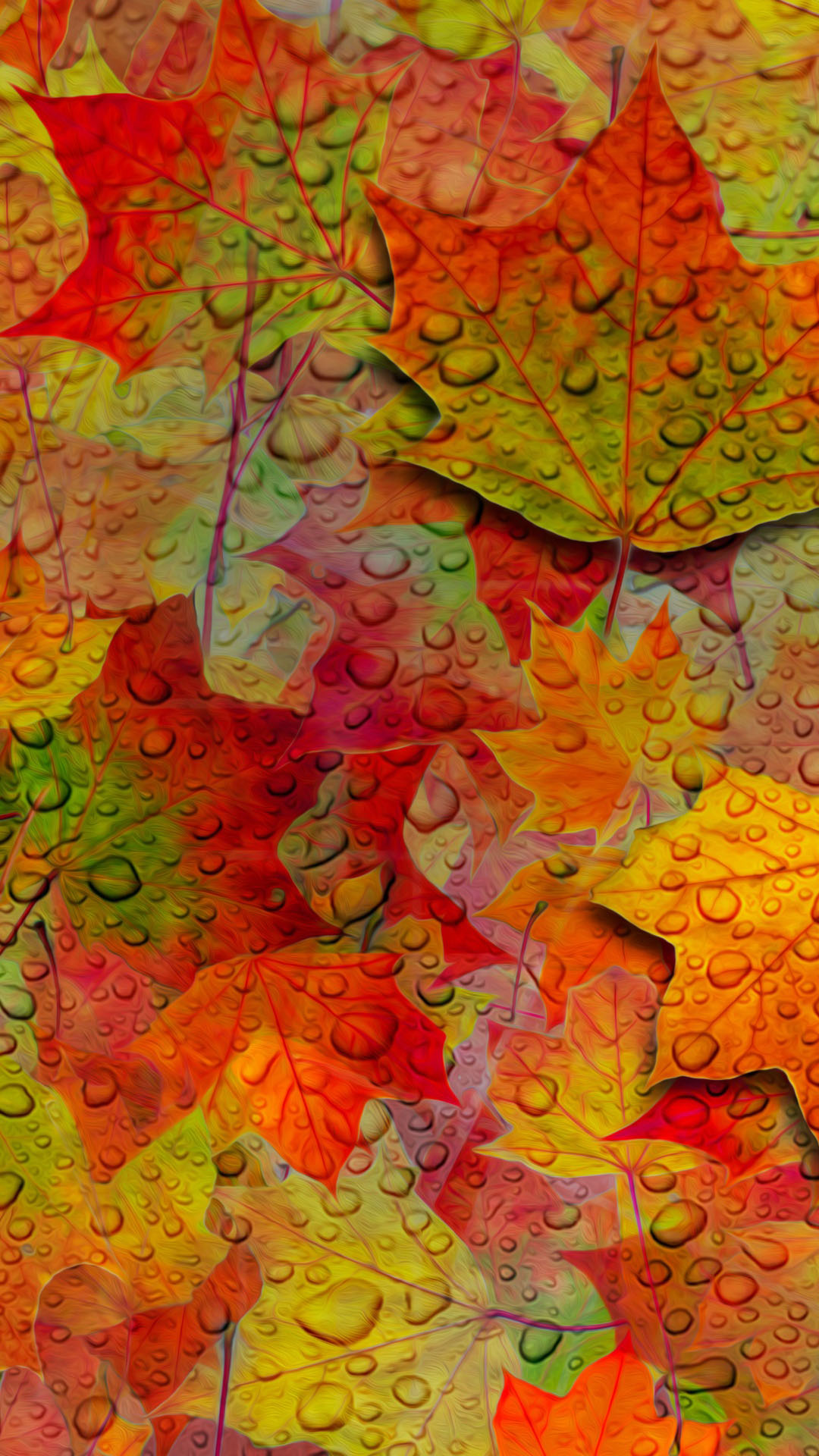 Fall Leaves Wallpaper   iPhone Wallpapers 1080x1920