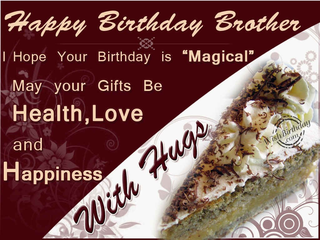 Happy Birthday Wallpaper For Brother 1024x768