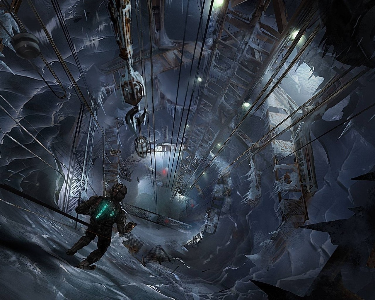 Wallpaper Electronic Arts Visceral Games Dead Space 3 1280x1024