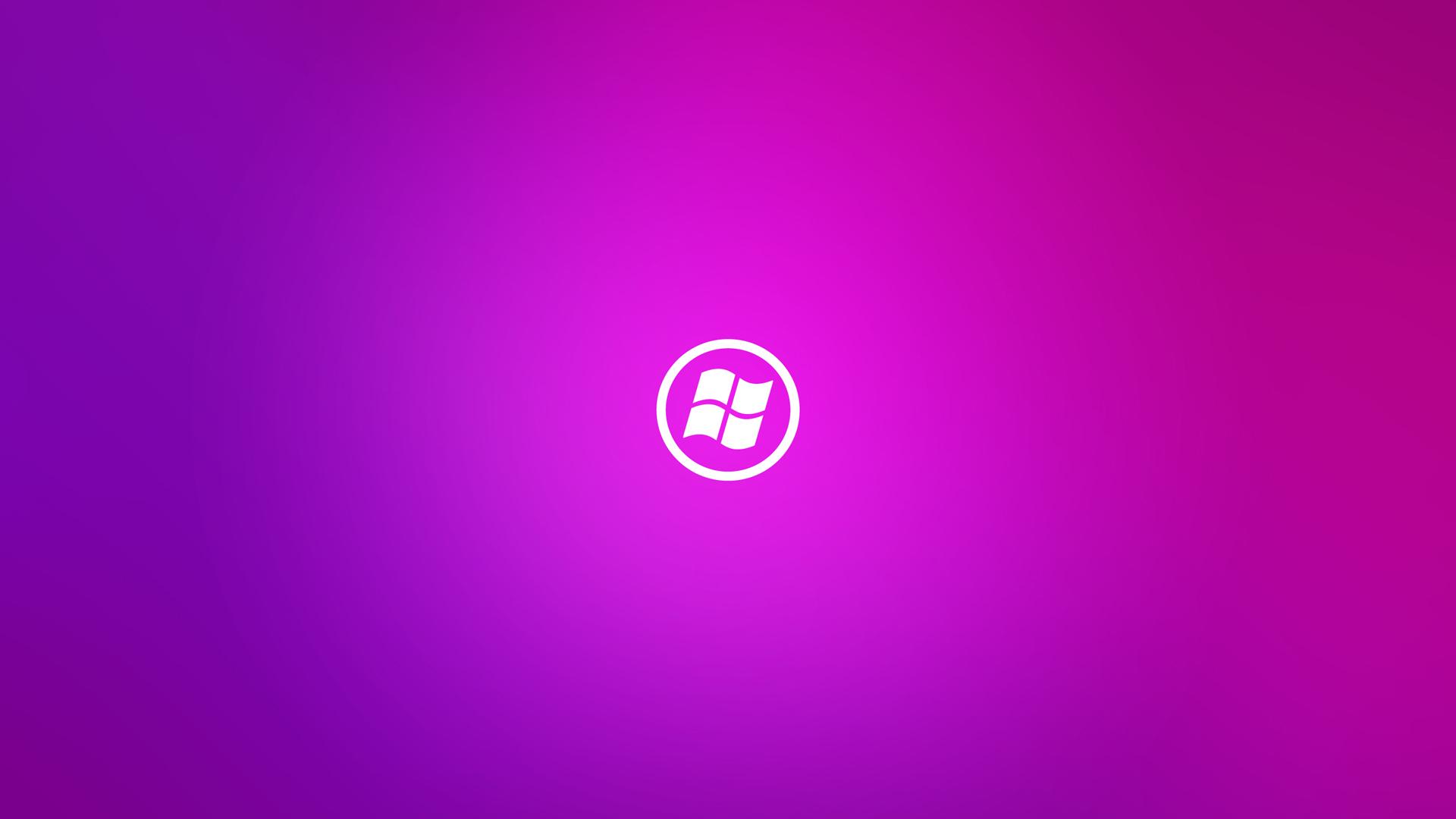 Purple Windows 10 Wallpaper