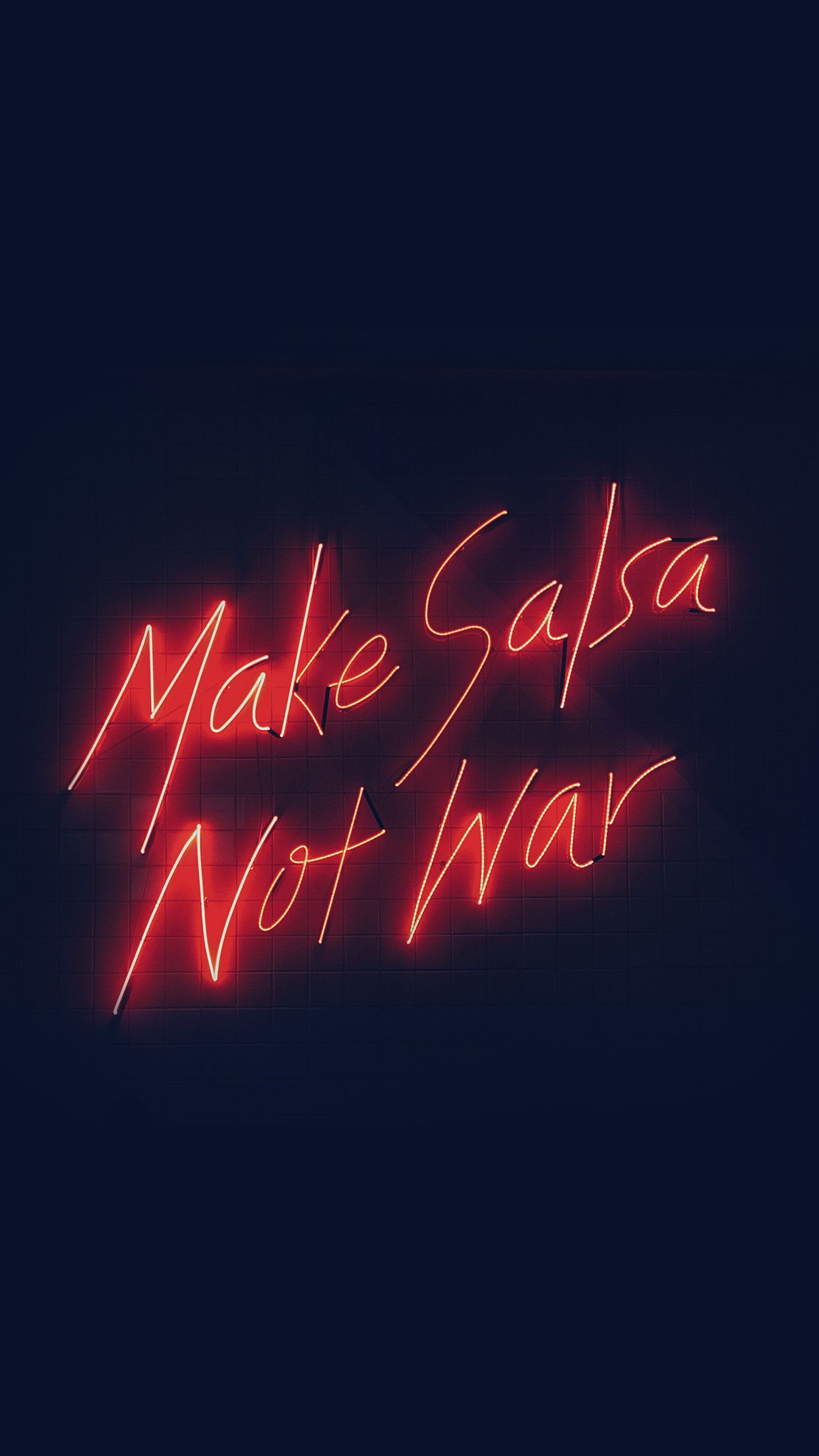 Make Salsa Not War iPhone 6 HD Wallpaper iPhone Wallpapers in 1242x2208