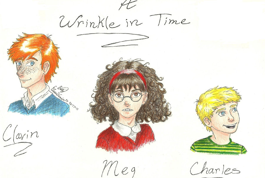 A Wrinkle in Time trio by ElvenWarrior14 900x606