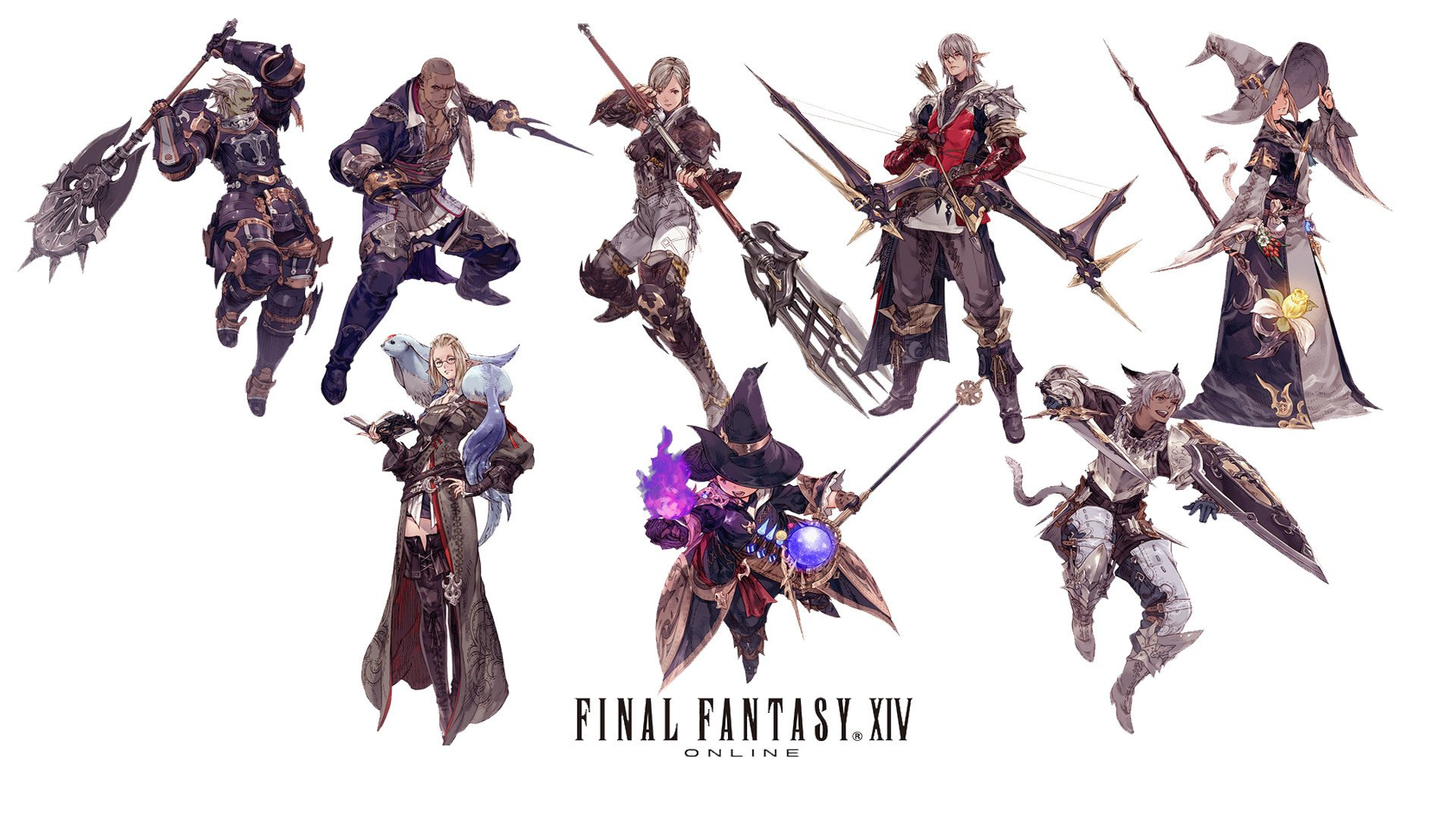 Final Fantasy Xiv A Realm Reborn Fantasy Art Wallpapers: Final Fantasy Realm Reborn Wallpaper