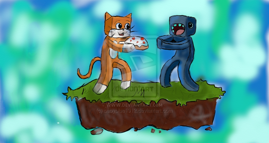 Stampy and Squid Wallp...L For Lee Minecraft Stampy