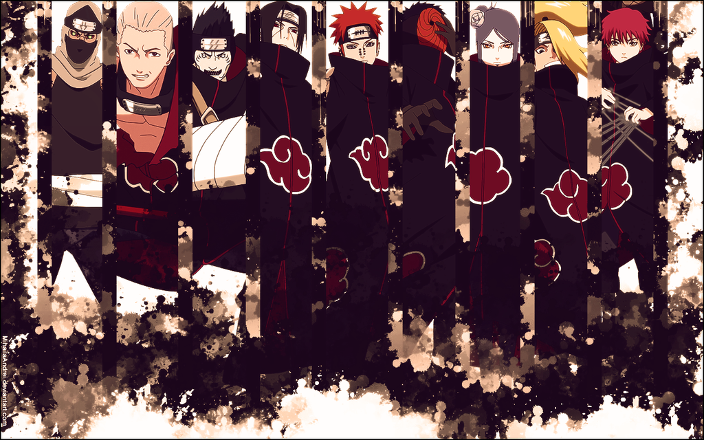 Free Download Akatsuki Wallpapers 1024x640 For Your