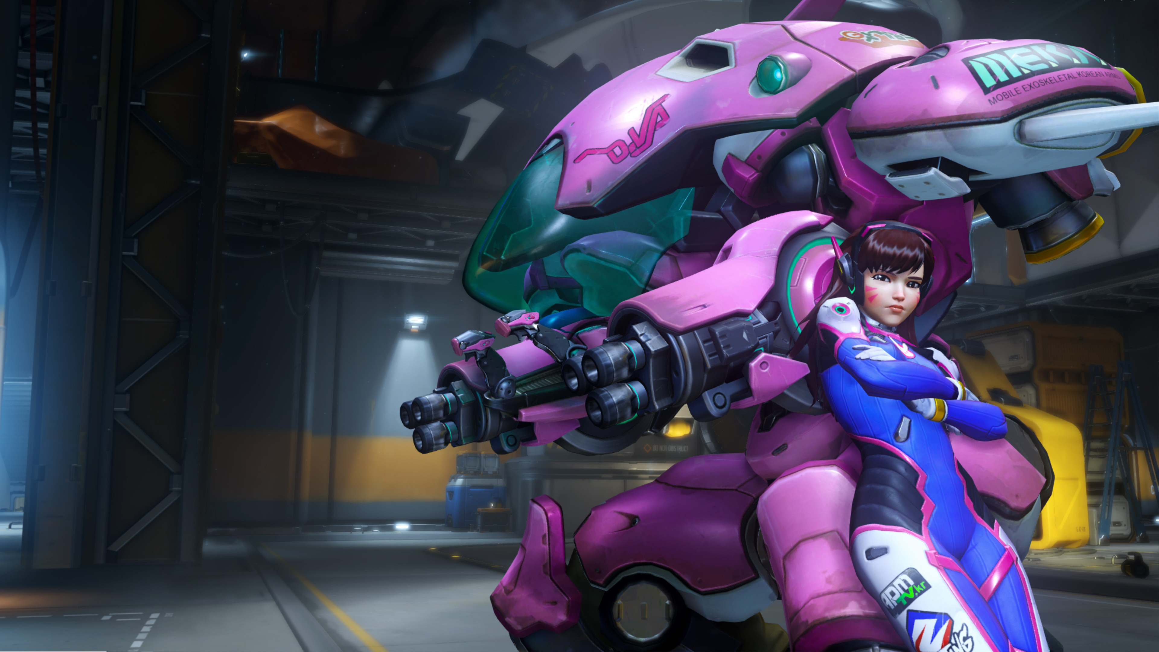 Va Overwatch Wallpapers HD Wallpapers 3840x2160
