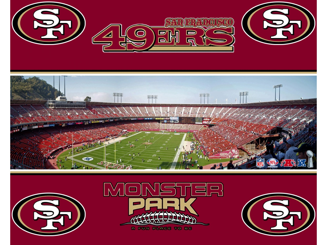 49ers wallpaper HD background San Francisco 49ers wallpapers 1280x960