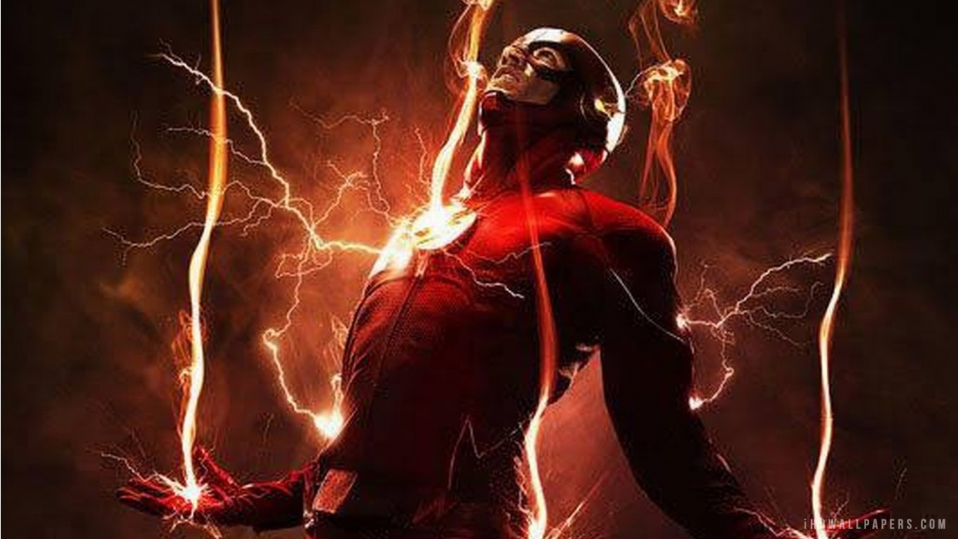 The Flash 2016 HD Wallpaper   iHD Wallpapers 1366x768
