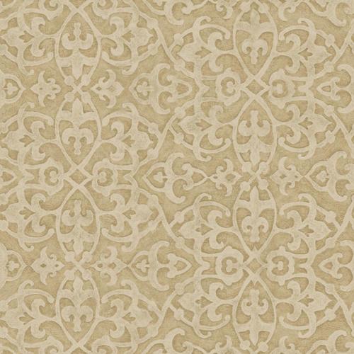 Metallic moroccan wallpaper wallpapersafari for Moroccan style wallpaper