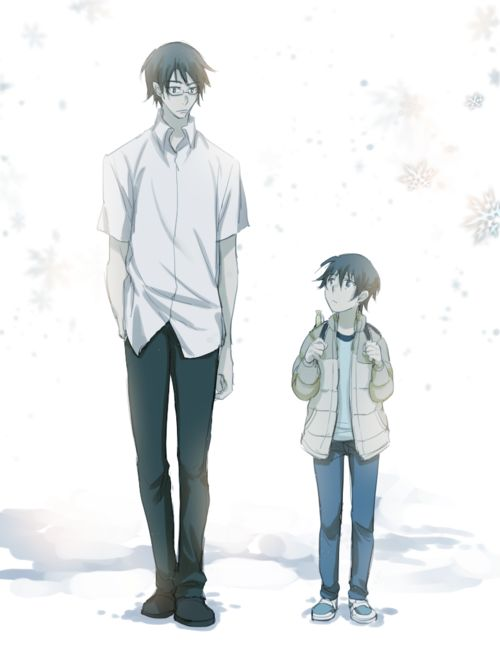 Anime Supernatural and Growing up 500x646