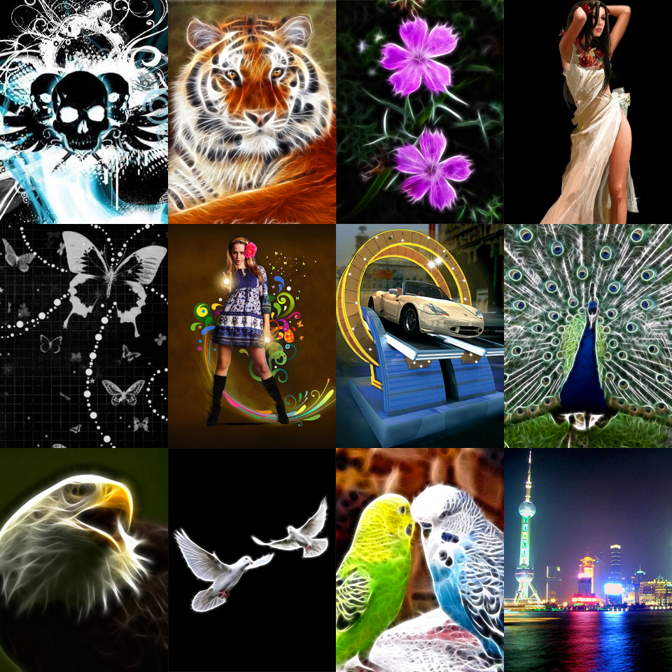 Neon Glow Mobile Wallpapers 240x320 Hd Walls Pack 960x960