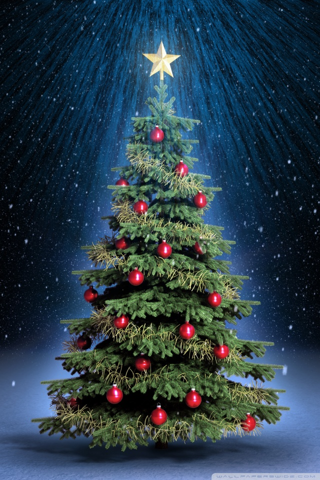 60 Beautiful Christmas IPhone Wallpapers To Download 640x960