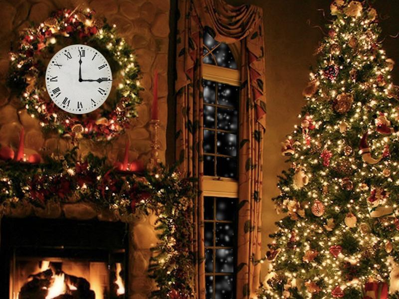 7art Christmas Fireplace screensaver   cozy festive decoration with a 800x600