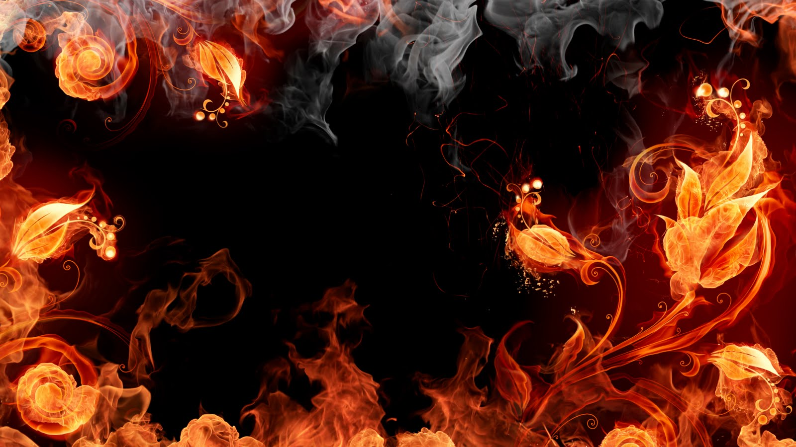 Red Fire Background wallpaper Red Fire Background hd wallpaper 1600x900