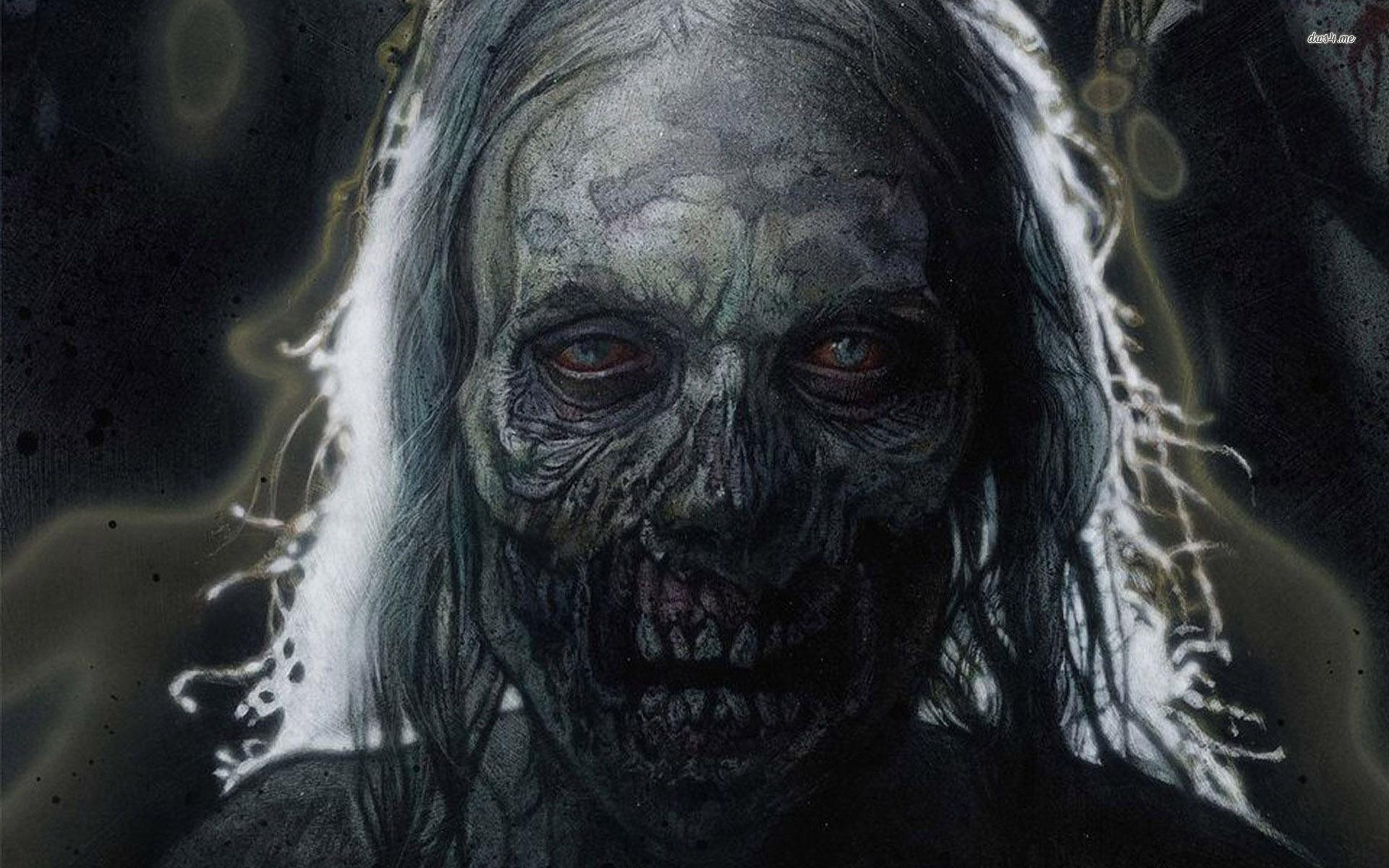 Hd Zombie Wallpapers - WallpaperSafari