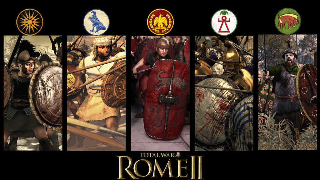 Rome 2 Total War Custom Wallpaper by w1haaa 1024x576