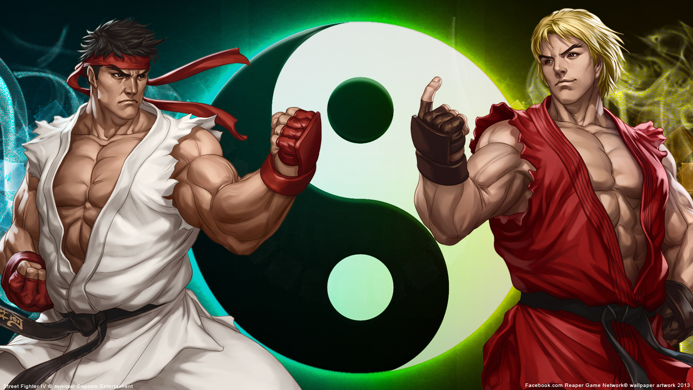 Free Download Street Fighter Ryu And Ken Wallpaper By Fiorerose