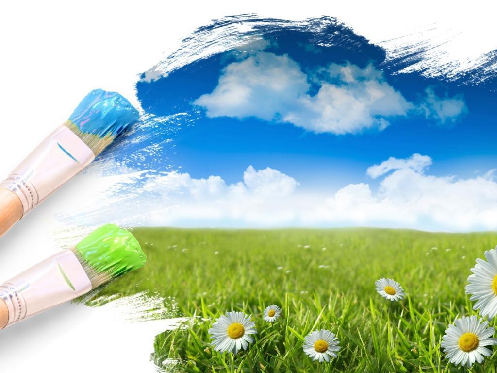 life brushes sky green wallpaper border   best wallpaper borders 1024x768
