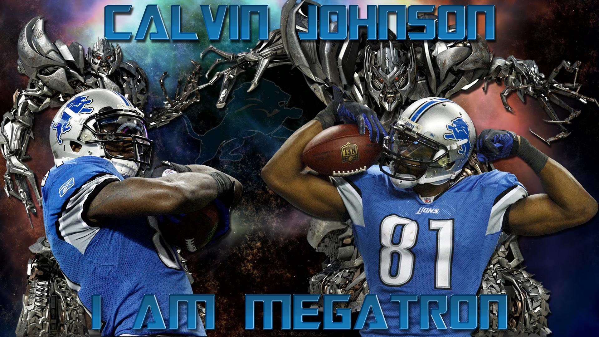 Calvin Johnson I Am Megatron Detroit Lions 2 iphone case