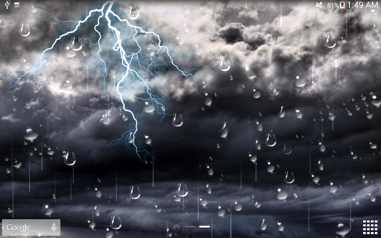 Thunder Storm Live Wallpaper for Android   APK Download 1280x800