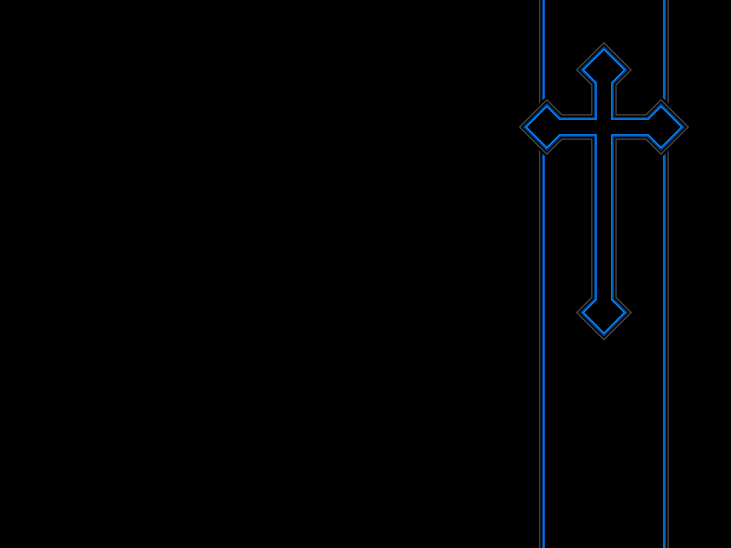 Blue Cross Wallpaper by ORANGEMAN80 1024x768