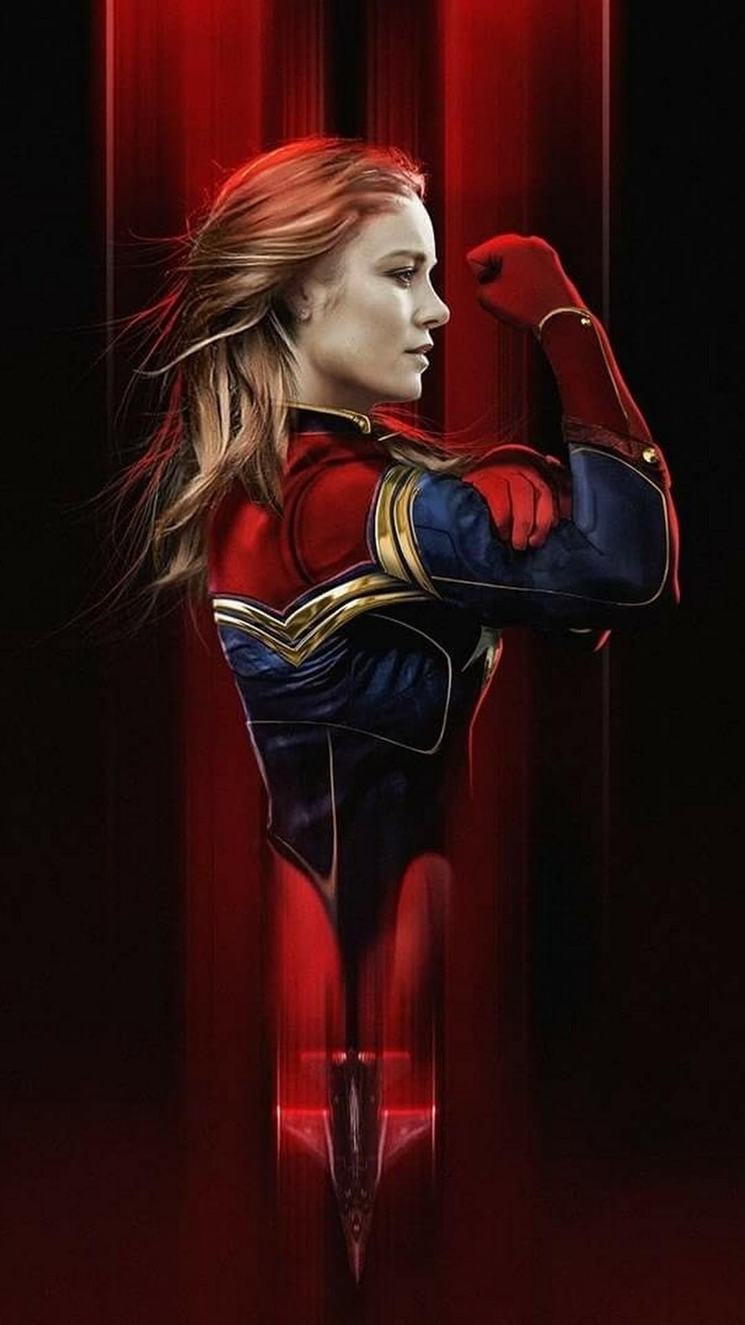 Phones Wallpaper Captain Marvel 2019 2020 Phone Wallpaper HD 1080x1920