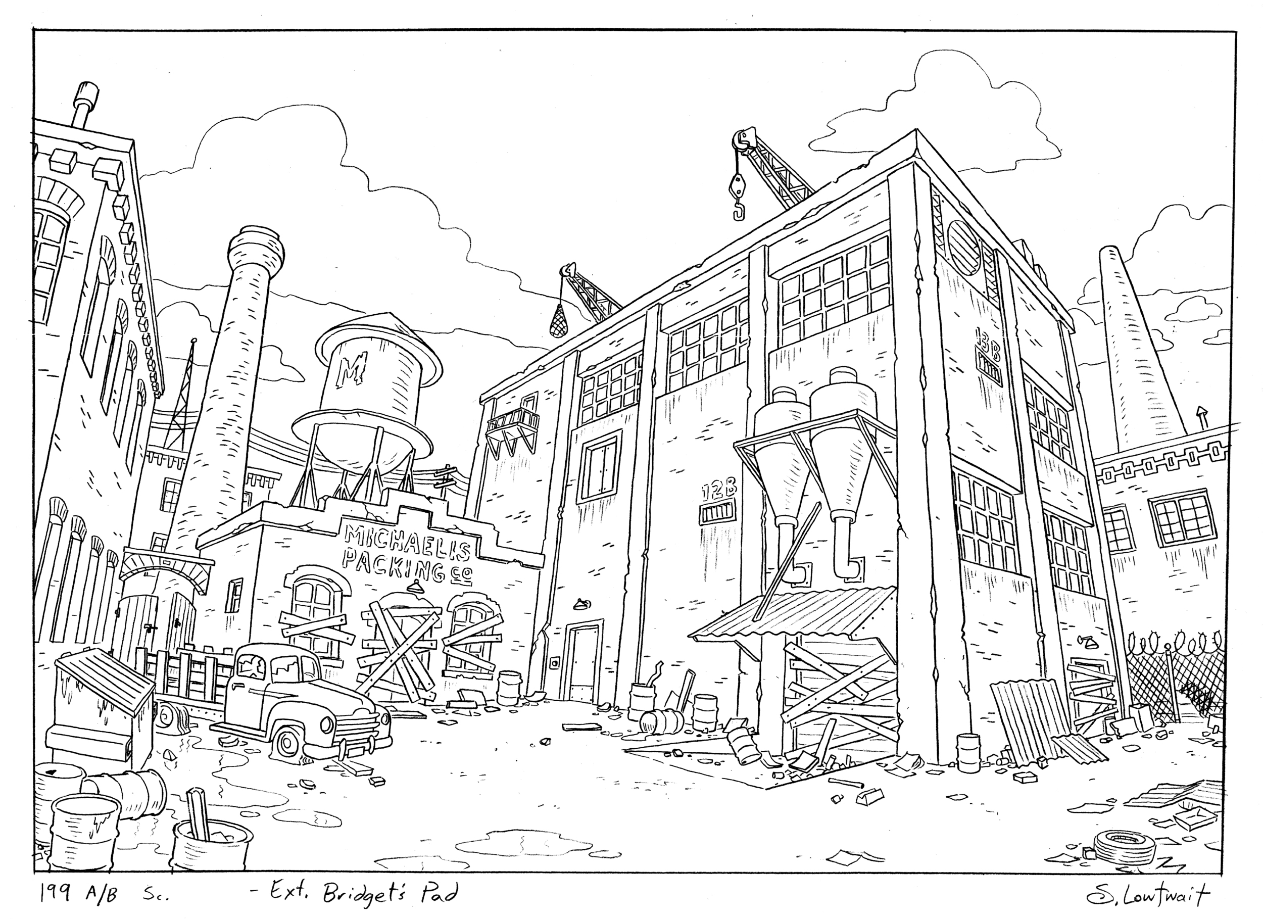 What is Animation Background Layout Steve Lowtwait Art 1000x728