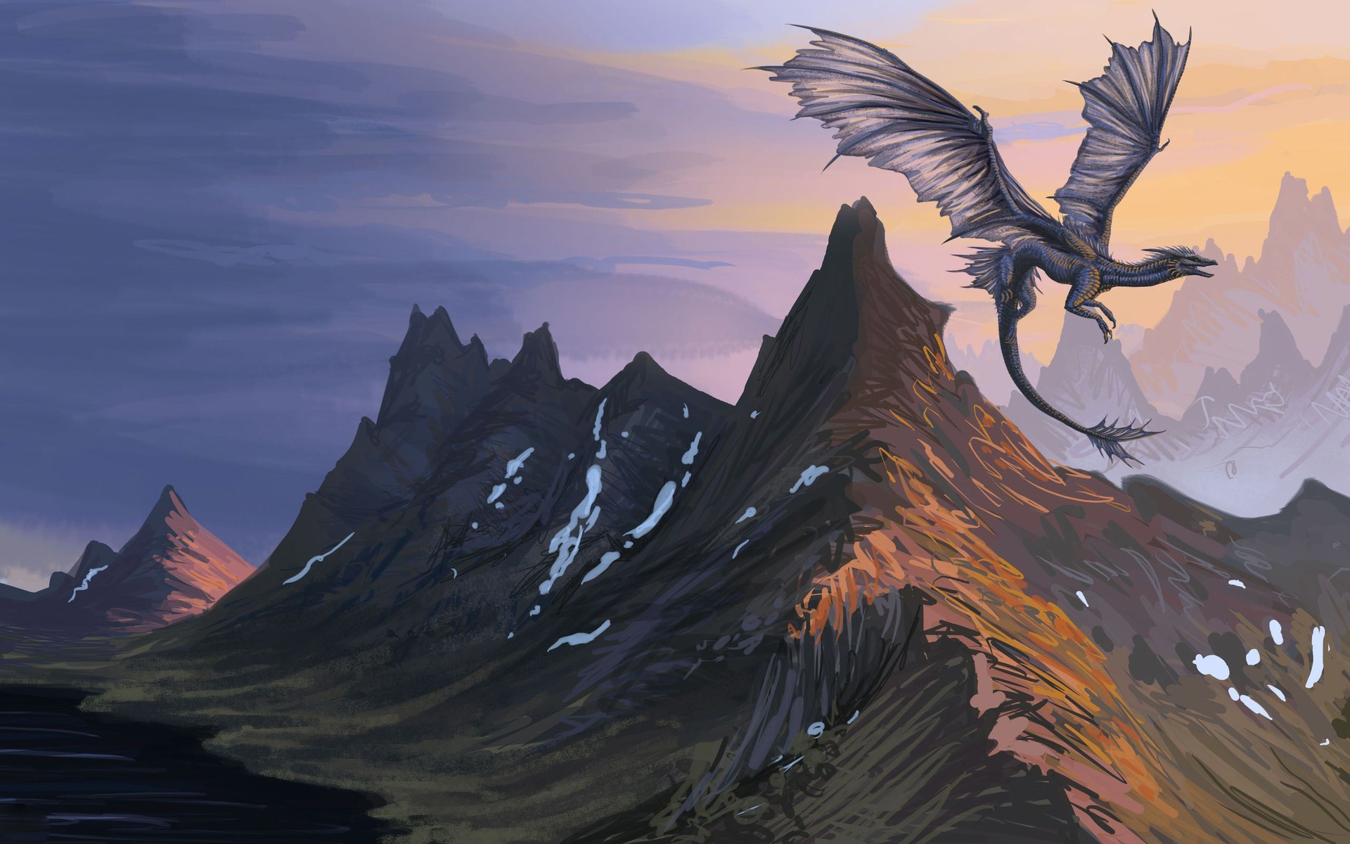 Flying dragon wallpaper 2560x1600   jhmn1m 1920x1200