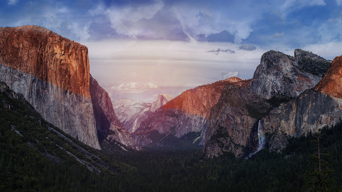 Yosemite Park El Capitan Wallpaper pack by Nidrax 1191x670