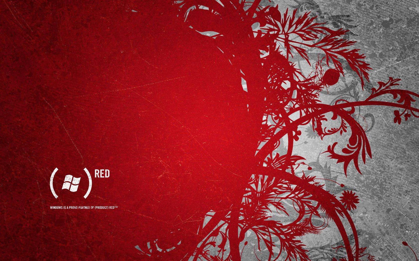 1680x1050 Dell Red Bloom desktop PC and Mac wallpaper 1680x1050