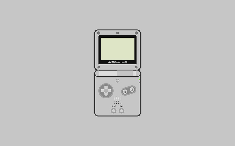 Nintendo Game Boy Advance SP Wallpapers   Matt Gemmell 800x500