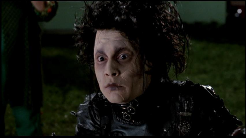 grotesque frankenstein vs edward scissorhands Get an answer for 'how could one compare and contrast frankenstein and edward scissorhands' and find homework help for other frankenstein questions at enotes.