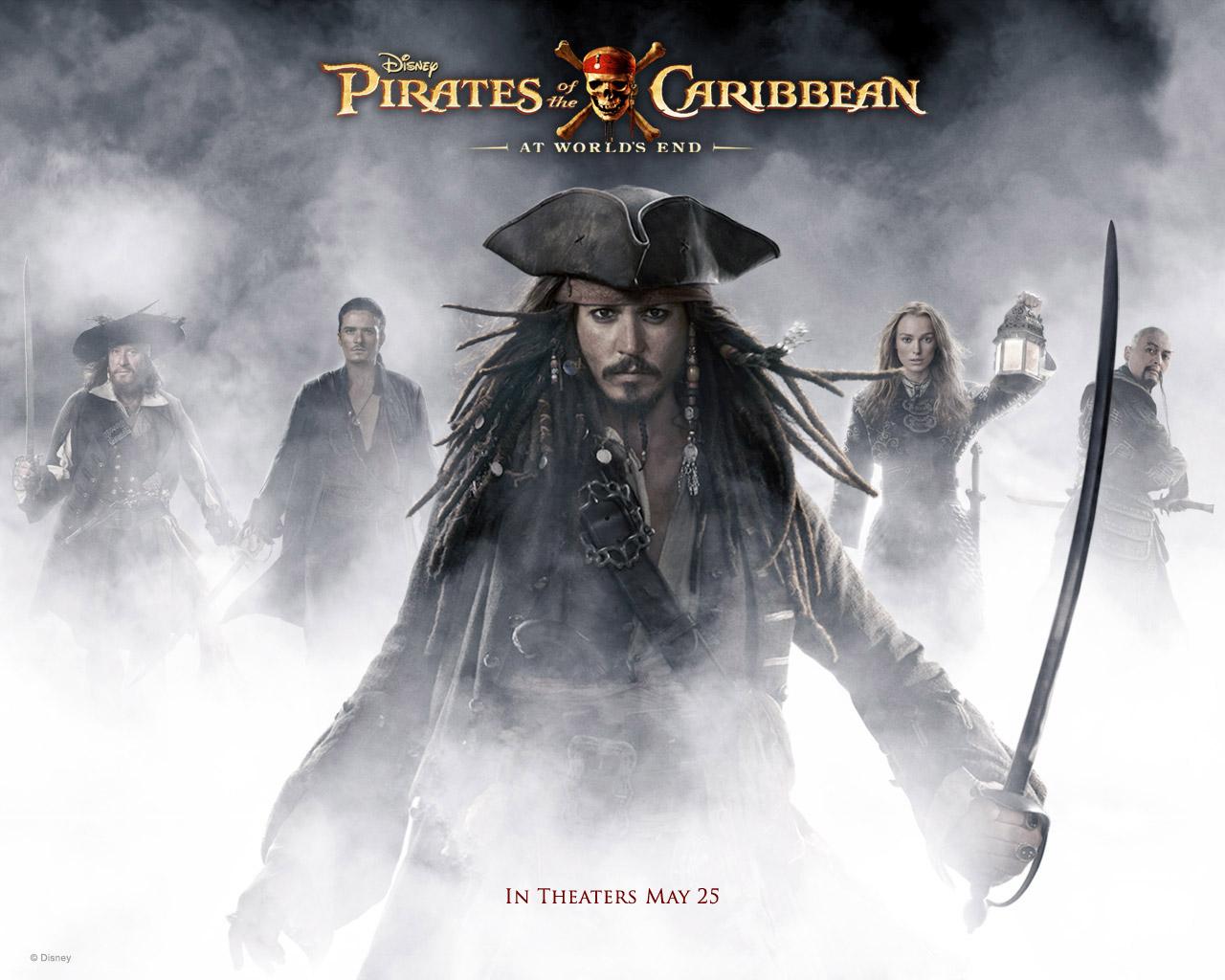 Pirates of the caribbean wallpapers desktop wallpaper 1280x1024