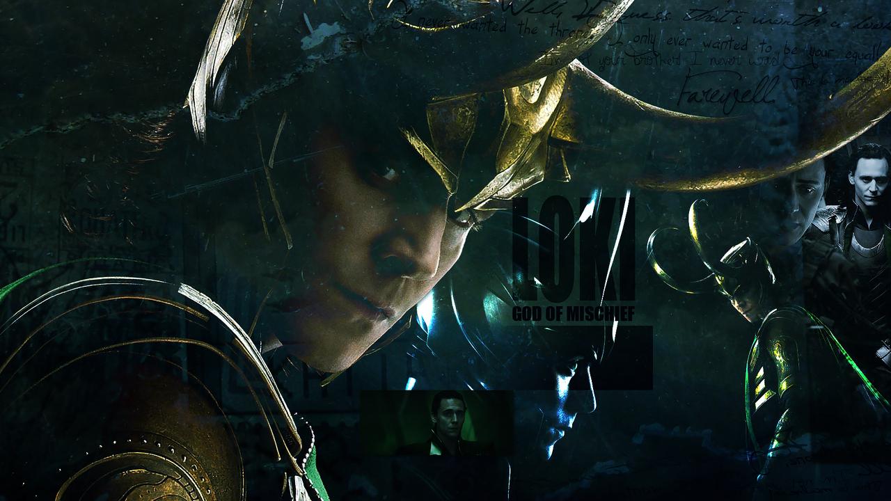 Loki Wallpaper by MissJ Kurayami 1280x720