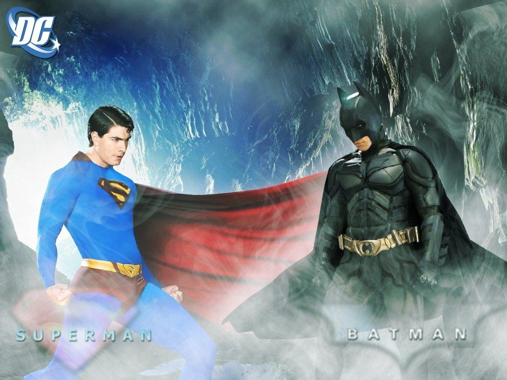 Batman and Superman   Superman and Batman Wallpaper 26620675 1024x768