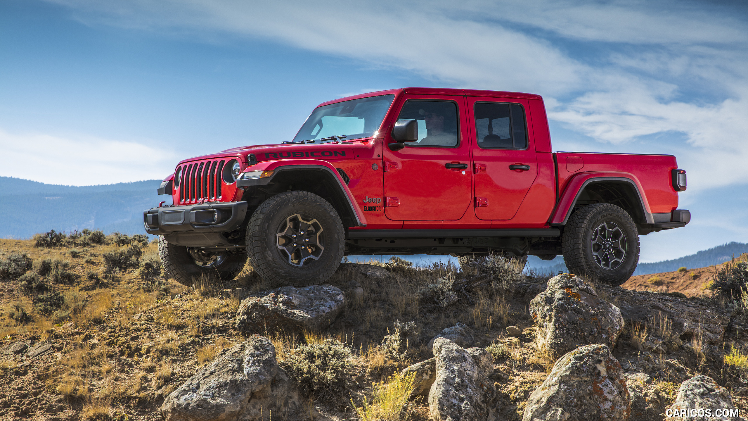 2020 Jeep Gladiator Rubicon   Side HD Wallpaper 118 2560x1440