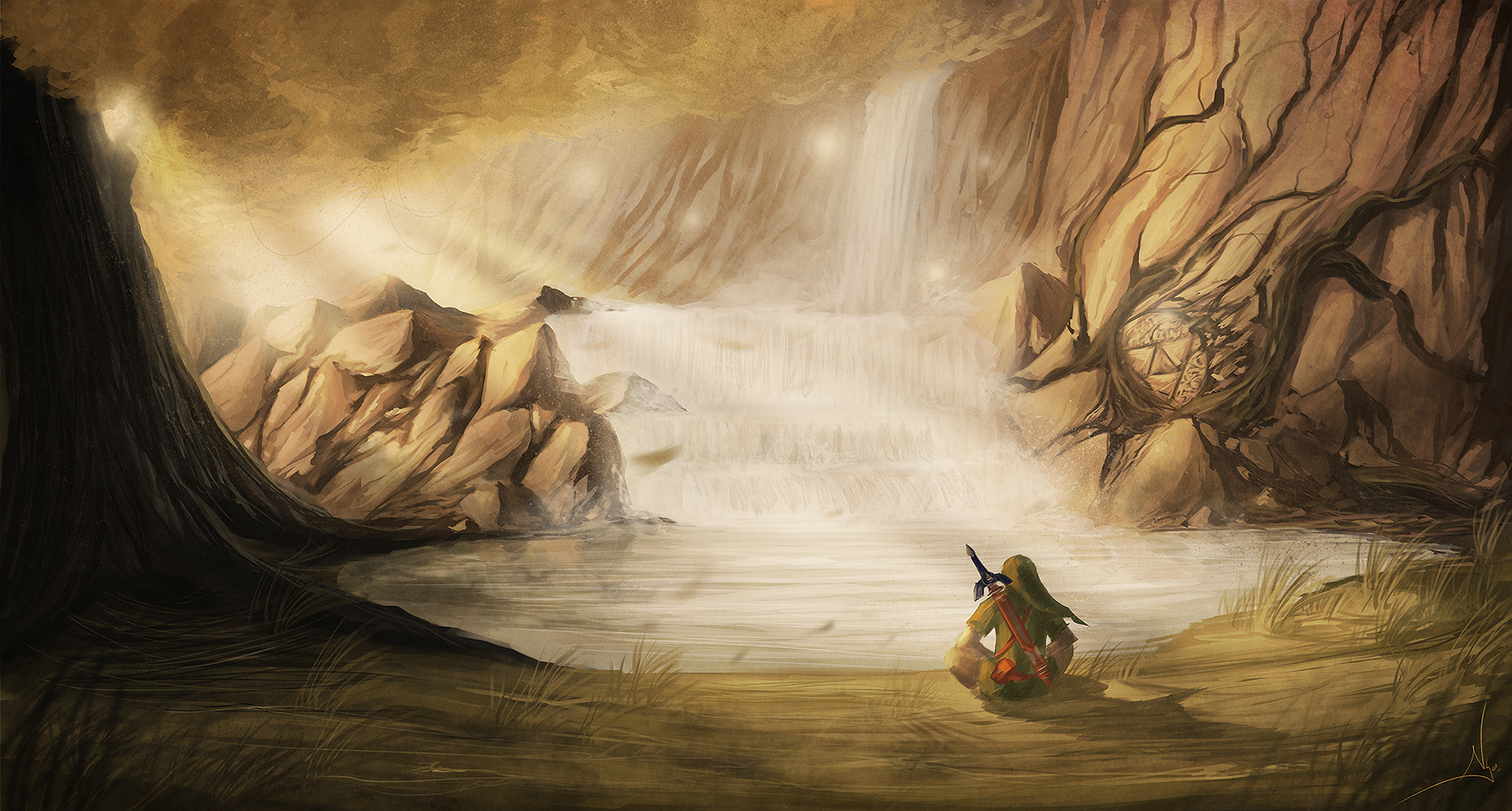 Fond dcran du jeu The Legend of Zelda Twilight Princess 1920x1030