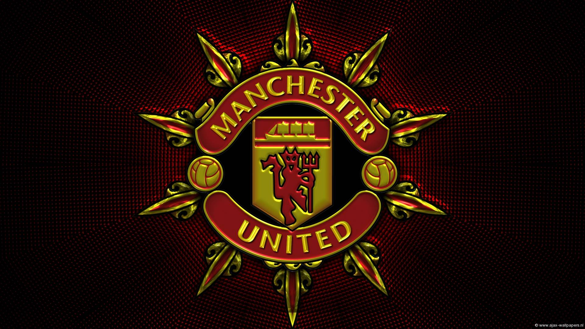 Manchester United Logo Wallpapers 1920x1080