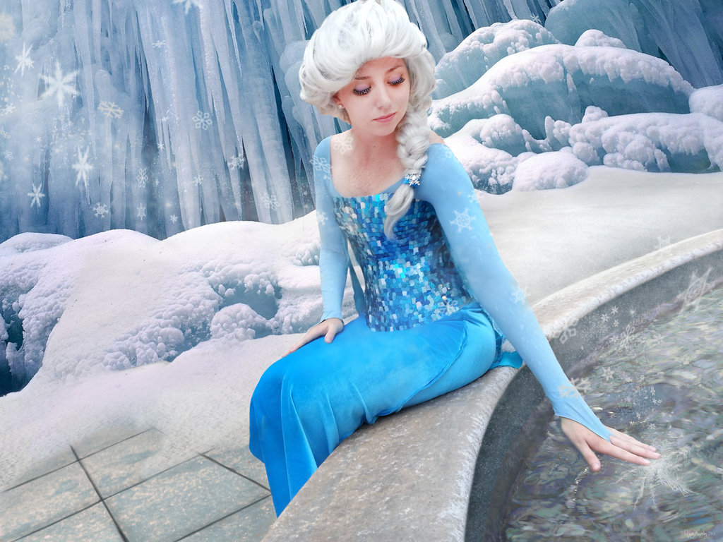 Elsa in Frozen Wallpapers Best Wallpapers FanDownload 1024x768