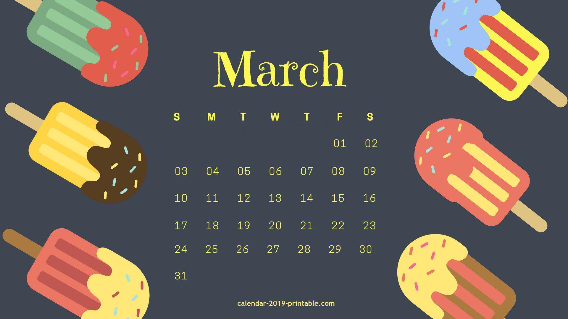 march 2019 desktop background calendar Calendar 2019 Wallpapers 1920x1080