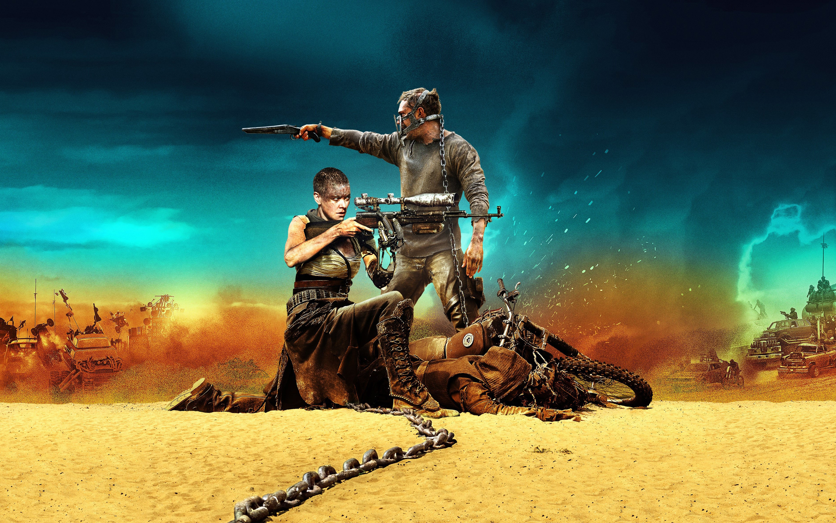 Mad Max Fury Road 2015 Wallpapers HD Wallpapers 2880x1800